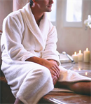 Luxurious Microfiber Bath Robe for He