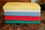 12 Pack 16 x 24 300 GSM Large Microfiber Towels